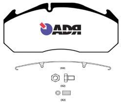 ADR TRUCK 10189720 - KIT PASTILLAS ADR IVE/RVI/NIS M2X68