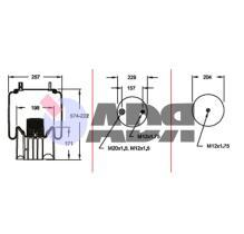 FIRESTONE W01M586315 - PHOENIX TRUCK & TRAILER , DENNIS EAGLE