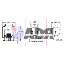 FIRESTONE W01M586317 - FUELLE COMPLETO SMB 1T15MPW7