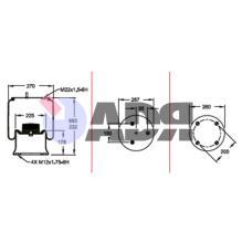 FIRESTONE W01M588107 - FUELLE COMPLETO DISCOS/WEWELER/SCHM
