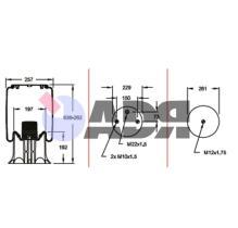 FIRESTONE W01M588185 - WEWELER US04200BF / VALX 80130001