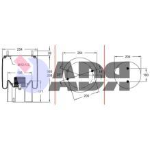FIRESTONE W01M588608 - FUELLE (FPM) BPW 36K