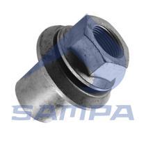 SAMPA 020458 - TUERCA PERNO RUEDA M20*1.5 SW27 A21