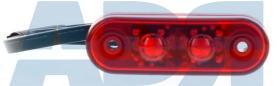 VIGNAL 104360 - GALIBO LED ROJO LG5000