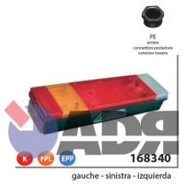 VIGNAL 168340 - PILOTO TRASERO IZQUIERDO LC7 C/LUZ MATRICULA