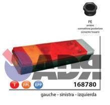 VIGNAL 168780 - PILOTO TRASERO IZQUIERDO LC7T C/LUZ MATRICULA