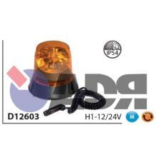 VIGNAL D12603 - ROTATIVO H1 12/24V. (CONEXION MECHERO)