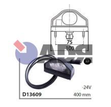 VIGNAL D13609 - PILOTO MATRICULA TRAILER LED