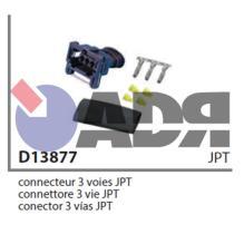 VIGNAL D13877 - CONECTOR JPT 3 VIAS