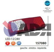 VIGNAL 157080 - PILOTO TRASERO IZQUIERDO LC8 LED C/LUZ MATRICULA