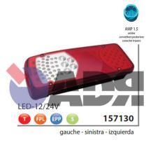 VIGNAL 157130 - PILOTO TRAS.IZDO.LC8T LED (LUZ/MAT) BENALU, LAMBERET