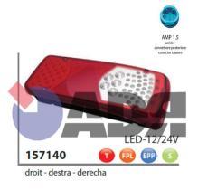 VIGNAL 157140 - PILOTO TRASERO DERECHO LC8T LED C/LUZ MATRICULA