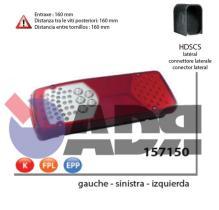 VIGNAL 157150 - PILOTO TRAS.IZDO.LC8 LED (LUZ/MAT) DAF CF/XF 06/2013-->