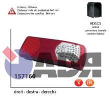 VIGNAL 157160 - PILOTO TRASERO DERECHO LC8 LED