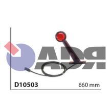 VIGNAL D10503 - GALIBO ROJO C/BASE Y C/CABLE 660MM