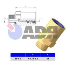 """RAUFOSS 90110012 - ABC NEW LINE PUSH-IN COUPLING R1/4"""" - T 8X1"""