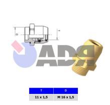 RAUFOSS 6237356 - PUSH-IN COUPLING M14X1,5 - T 10X1,5