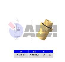 RAUFOSS 6237692 - LOCKING NUT M12X1,5