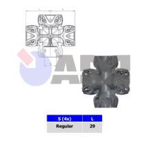 RAUFOSS 92050070 - DISTRIBUIDOR 4 VÍAS