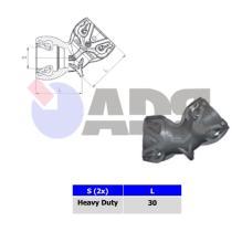 RAUFOSS 92060045 - UNION T&L WITH BRACKET CLIP 90° HEAVY DUTY