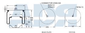 FIRESTONE W01M588453 - WEWELER US04100BF, VALX 80130050