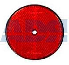 VIGNAL D14593 - REFLECTOR Ø 61 MM ROJO